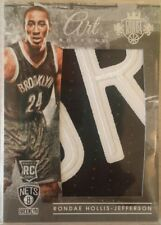 2015-16 Court Kings Art Nouveau Jerseys Prime Patches 23 Rondae Hollis-Jefferson