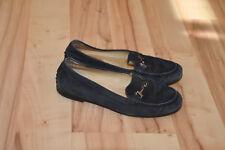 TOD'S TODS Made in Italy Blau Leder Gr.: 36 1/2