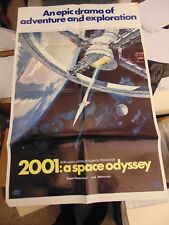 2001 A Space Odyssey 1968 Original Space Station One-Sheet #N106