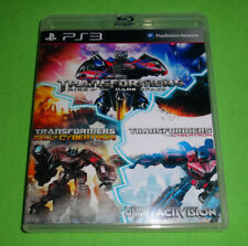 Empty Case! Transformers Trilogy - War Fall Rise Cybertron Sony Playstation PS3