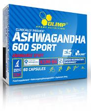 Olimp ASHWAGANDHA 600 Endurance Sport, KSM-66, Ginseng, Adaptogen & Antioxidant