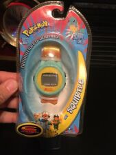 NEW VINTAGE RARE Pokemon Trendmasters Squirtle Talking Watch 1998 FREE Ship
