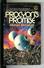 PROCYON'S PROMISE by McCollum, US Del Rey sci-fi pulp vintage pb