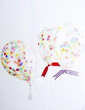 Mini Rainbow Confetti Balloon Kit Cake Topper Party Supplies Birthday