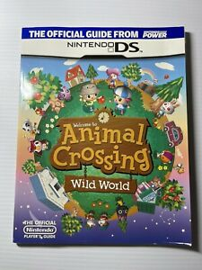 Animal Crossing Wild World OfficialGame Guide -  Nintendo Power 2005 with Poster