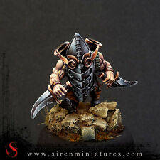 Spout - Fantasy dwarf miniature in 32 mm scale for tabletop and board games