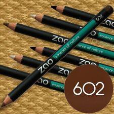 Zao Make-up 602 DUNKELBRAUN Stift Eyeliner Augenbrauen Naturkosmetik bio fair