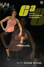 MYFIT C3 CHAIR CONDITIONING CHALLENGE DVD DIANE MYLES NEW ADVANCED WORKOUT