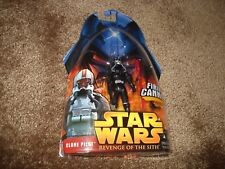 "STAR WARS REVENGE OF THE SITH 2005  ""CLONE PILOT-BLACK"" FIRING CANNON!"