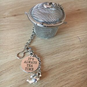 It's Always Tea Time Small Tea Infuser Stainless Steel 4.5cm New Teapot