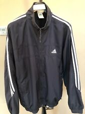 Mens Adidas Vtg 90s Tracksuit Top Sports Training Zip Up Jacket Size Large