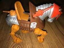 MOTU He-Man Vintage STRIDOR HORSE w/ Headdress MISSING TAIL