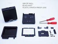 Black Nintendo Game Boy Advance SP GBA Case Casing Shell Housing Tools sticker