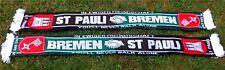 Bremen St Pauli Schal + IN EWIGER FREUNDSCHAFT +NEU+ Ultra Kurve Block Fan Kurve
