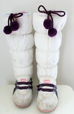 Onitsuka Tiger snow heaven sneaker boots white purple  Eur 34.5 US-Aus 2.5 USED