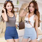 Sexy NEW VINTAGE Womens Girls DENIM SHORTS High Waisted Hot Mini pants JEAN Slim