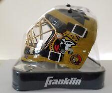 OTTAWA SENATORS NHL Hockey FRANKLIN SPORTS MINI GOALIE MASK HELMET NHL MCMXCII