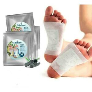 10 PCS/Bag TAKESUMI AROMATIC HERBAL FOOT PATCH DEHUMIDIFICATION Free Shipping ㊋㊋