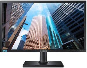 "Samsung S24E450BL 24"" Zoll Monitor VGA DVI 5ms EEK: A Pivot schwarz"