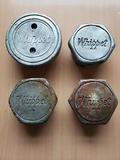 Lot Of 4 (1 Different 3 Similar) Vintage Whippet Tire Wheel Screw On Hub Caps
