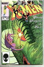 Uncanny X-Men #181-1984 vf- X Men John Romita Jr 1st appearance of Amiko