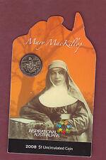"""Australia  - 2008 $1 Mary Mackillop     """" SCARCE """" ................"""
