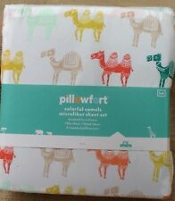 NEW PIllowfort Colorful Camels FULL Size Sheet Set ~ Double Sheets ~ Microfiber