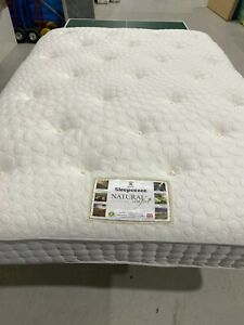 SLEEPEEZEE TOUCH LATEX 2000 mattress DOUBLE 135x190cm FIRM COMFORT RRP £850