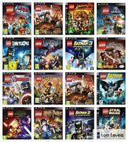 Ps3 - Lego | Star Wars | Harry Potter | Batman | Choose Your Game Multi-Listing