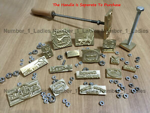 Custom Made Design Logo Leather Stamp Wood Stamp Branding Iron Food Cake Stamp