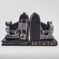 Film Camera Shelf Tidy Heavy Bookends Vintage Retro Style Great For A Study