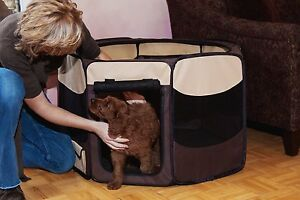 Pet Gear Octagon Pet Pens -ALL Colors! Portable* Softside Pet Crate * Up to 30lb