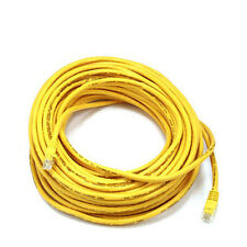 75FT Yellow High Quality Cat6 550MHz UTP RJ45 Ethernet Bare Copper Network Cable