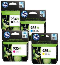 Genuine Original HP 934XL / HP 935XL BCMY Inkjet Cartridges Officejet Pro 6830 e