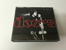 The Doors - In Concert - Live (2CD 1991) FAT BOX NMINT/EX W INSERT