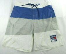 New York Rangers NHL G-III Men's Blue Embroidered Swimming Trunks