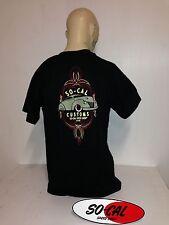 So-Cal t-shirt customs BLACK sz XXL rear print hot rod 32 ford chev