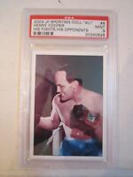2003 MUHAMMAD ALI JP SPORTING COLL. #6 BOXING CARD PSA GRADED 9 MINT