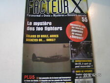 ** Facteur X ovnis n°55 Pleins feux sur les Foo Fighters / La Lance du Destin