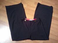 Mint An Original Milly of New York Black Wool Silk Women's Dress Pants SZ 6