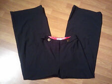 Mint An Original Milly of New York Black Wool Silk Women's Dress Pants SZ 6