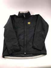 Men's Scuderia Ferrari  Racing Windbreaker Jacket Size XL Black