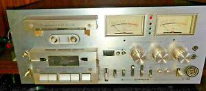 Pioneer CT-F1000 3-Head Stereo Tape Deck - Kassettendeck Vintage 220v