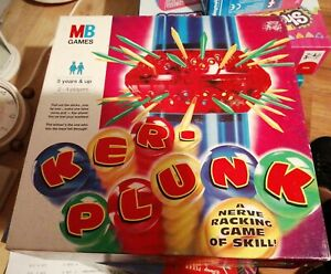 KER-PLUNK GAME COMPLETE NICE CONDITION MB GAMES FREE UK POST 1996 RETRO XMAS