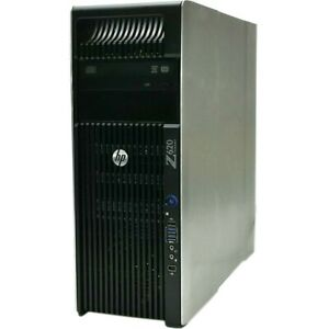 HP Z620 Workstation Xeon E5-1620 V2 3.7GHz 32GB 256GB SSD 1TB HDD K4000 WIN 10
