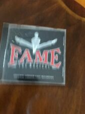 CD Compact Disc Fame The Musical Original London Cast Recording