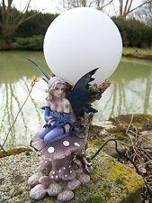15100 LUMINAIRE LAMPE FIGURINE FEE  ELFE DRAGON  FANTASY GM LES ALPES FATA
