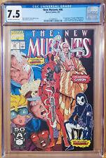 The New Mutants #98 CGC 7.5 (1991) 1st Apearance of Deadpool Marvel Key Issue
