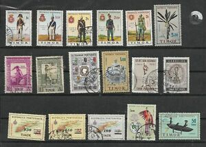 PORTUGAL  COLONIES ✱ TIMOR ✱ USED  LOT