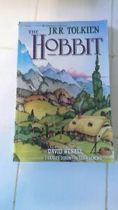 The Hobbit, illustrated by David Wenzel. 1st print, Eclipse, 1990 (JRR Tolkien)